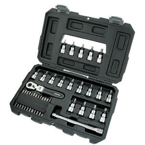 Craftsman 3 8 Drive Extreme Grip 45 Piece Ratchet Bit Socket Bit Set W Case