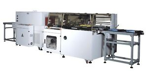 Telesonic Packaging Automatic Side Sealer And Shrink Wrapper tunnel Pack System