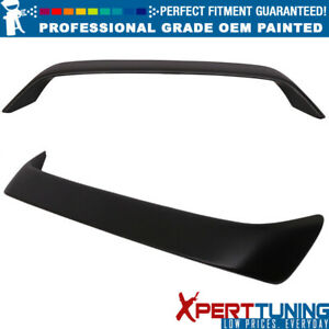 Fit 96 00 Honda Civic Coupe Type R With Led Trunk Spoiler Oem Painted Color
