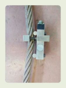 Rope Clamp Load Cell Alloy Steel 30 Ton