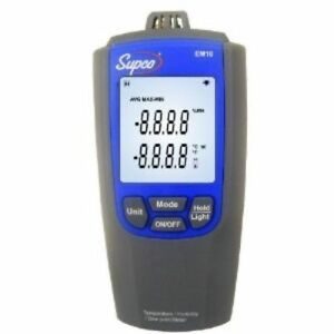 Em10 Supco Temperature Humidity Meter Lcd Display 14 To 122 Degrees