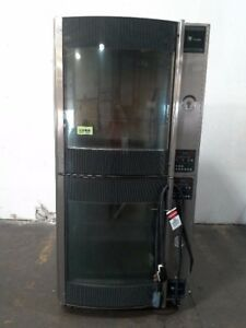Fri jado Stg7 p Electric Double Stack Commercial Chicken Rotisserie Oven 2