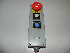 Emergency Stop Transfer And Release Switch