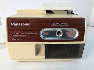 Vintage Panasonic Electronic Pencil Sharpener letter Opener Kp l1000 Pana