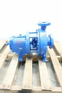Goulds Mti I frame Iron Centrifugal Pump 2 X 3 1 4in D605414