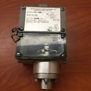 Mercoid 1005 w b3 d Electrical Pressure Switch