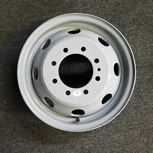 New 16x6 Dually Steel Wheel For 1992 2007 Ford E350 E450 Van Oem Quality 3210