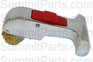 Oem Quality t Style Red Button Door Handle For Ipso Washers 217 00051 00