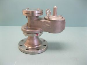 2 150 Groth 1300a 02 555 t00 Vacuum Relief Valve Top Mount A20 2276