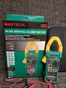 Mastech Ms2115a True Rms Digital Dc ac Clamp Meters Multimeter Amp Voltage R Hz