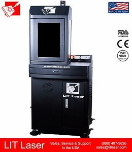 50w Q switched 2 5d Firearm Deep Engraving Fiber Laser Marking System Ipg