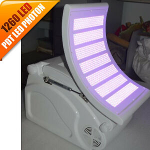 Red Blue Led Light Phototherapy Rejuvenation Anti Aging Lamp Beauty Machine Spa