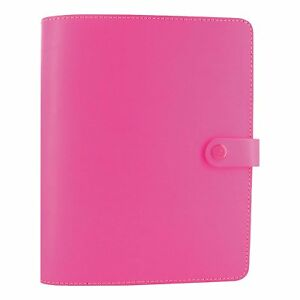 Filofax The Original Leather Organizer Fluro Pink A5 8 25 X 5 75 Any Year With