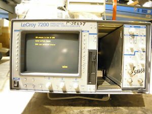 Lecroy 7200 Precision Digital Oscilloscope With 7242a 500mhz 1gs s 7290 Panel