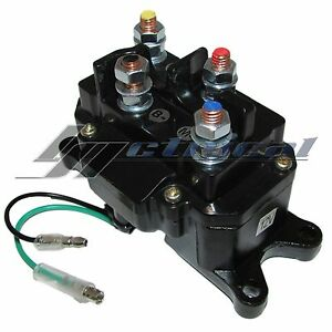 Atv Winch Solenoid Relay For Ramsey Warn Superwinch Champion 2500 3000 3500 4500