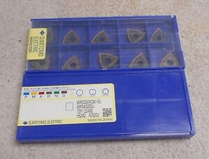 Sumitomo Carbide Inserts Wnmg 432 Esu Grade Ac520u Sealed Pack Of 10