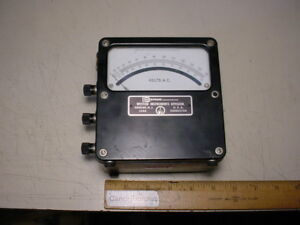 Weston Daystrom Model 433 Ac Voltmeter