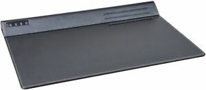 Black Desk Pad Easy View Comfortable Non Glare Writing Surface Home Office Use