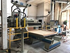 Komo Machine Vr 508 3 Axis Cnc Router 5 X 8 Twin Spindle Router Table