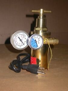 New Profax Tigmaster Heated Flow Meter flow Gauge Rfg 320 h 110v 190w