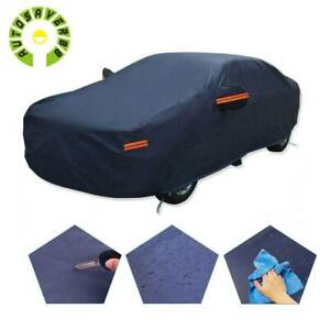 15ft Full Car Cover Waterproof Dust Rain Snow Ultra Thick Multi Layer Protection