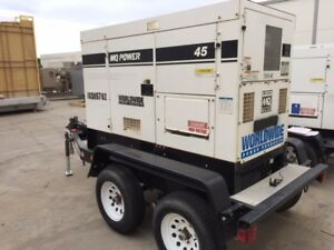 Multiquip Dca45 Portable Diesel Generator Set 36kw Standby 240 480v 1800rpm