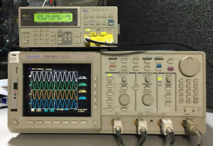 Tektronix Tds744a Upgraded To Tds784a 1ghz 4gs s Usb 13 1f 1m 2f New Crt