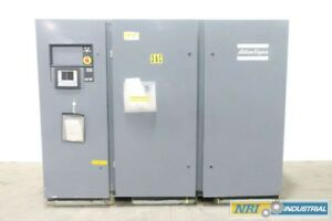 Atlas Copco Ga 90 W 575v ac 100kw Oil lubricated Screw Compressor D549836