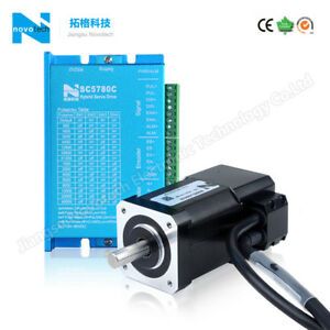 China Nema 17 Close loop Servo Stepper Motor 0 4n m With Driver controller Kit