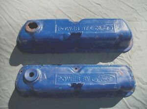Two 1970 80 S Ford 351 Valve Covers Nice Used Parts Read Description