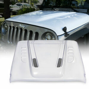 Xprite Transformer Series Fiber Glass Hood For 2007 2018 Jeep Wrangler Jk Jku