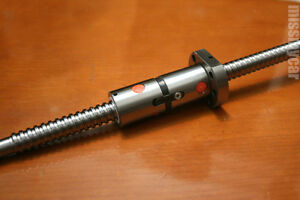 Rm1605 Ballscrew L800mm With Ball Nut Both End Machined Double Nut m_m_s