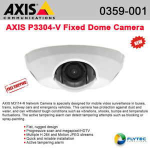 Axis M3114 r M12 Dome Network Camera Color 10 100 Poe P n 0359 001