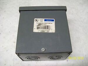 New Rexel Type 3r 6 X 6 X 4 Enclosure Junction Box R664rtsc