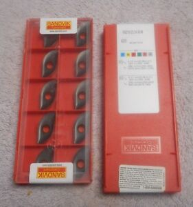 Sandvik Carbide Inserts Ra216 25 04 M m Sealed Pack Of 10 Grade 4220