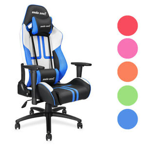 Anda Seat Ergonomic Racing Chair Gaming Tilt Adjustable Swivel Office Color Opt