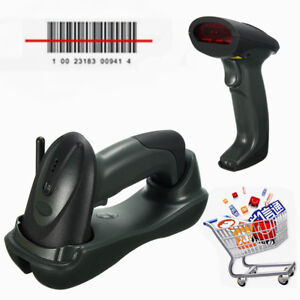 Barcode Scanner Symbol Wireless Bluetooth base usb Cable Laser Reader Rk16 Ccd
