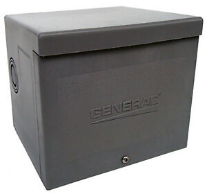 Generator Power Inlet Box Resin 30a Generac 6337