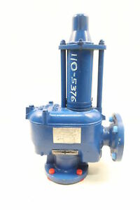 Oceco R2 v136 s45 Flanged Pressure vacuum 2in Relief Valve 0 5 45psi
