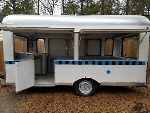 1960 Concession Trailer