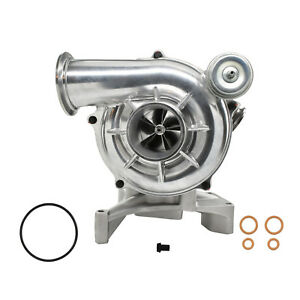 7 3l 99 5 03 Ford Powerstroke Gtp38 High Performance Turbo 5 5 Billet Polished