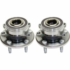 Front Or Rear Wheel Hub Bearing For 2011 2016 Ford Explorer W Lug Bolts 2 Pcs
