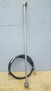 Binks Stainles Steel Suction Siphon Tube With Hose Assembly