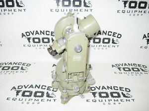 Wild Heerbrugg Theodolite T16 Survey Equipment Switzlerland W Tribrach