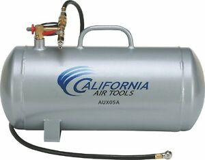 California Air Tools Aux05a 5 Gallon Aluminum Auxiliary Air Tank