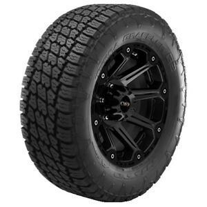 4 new P265 70r17 Nitto Terra Grappler G2 115t B 4 Ply Bsw Tires