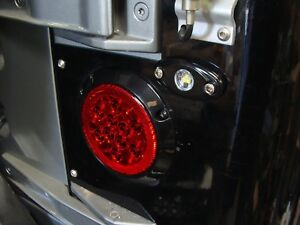 4 Tj Wrangler 2003 Surface Mount Led Tail Light With Backups And Flasher