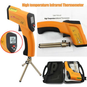 Non contact Infrared Laser Thermometer Temperature Gun Pyrometer 50 1600 Us