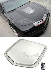 For 10 15 Camaro Zr1 Front Hood Clear Window Insert Inspired Style Polycarbonate