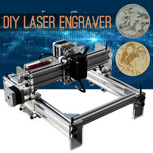 200mw Laser Engraving Machine Diy Logo Marking Engraver Cutter Printer 17x20cm